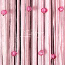 Makarony z koralikami różowe koraliki, różowy makaron 160x295...
