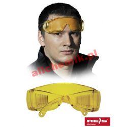 Okulary ochronne przeciwodpryskowe GOG ICE LIGHT - 1 para