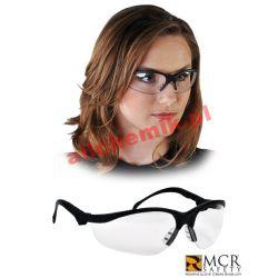 Okulary ochronne przeciwodpryskowe poliwęglanowe MCR-KLONDIKE - 1 szt