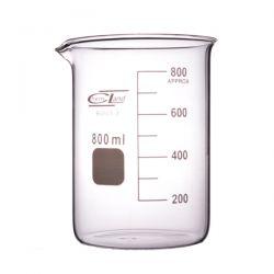 Zlewka szklana niska z wylewem 800 ml - 1 szt