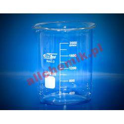 Zlewka szklana niska z wylewem 600 ml - 1 szt