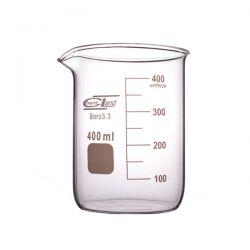 Zlewka szklana niska z wylewem 400 ml - 1 szt