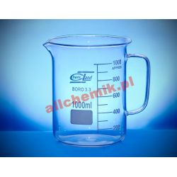 [2030] Zlewka szklana niska z uchem 100 ml - 1 szt