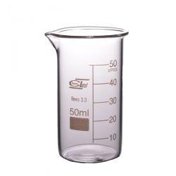 [2142] Zlewka szklana wysoka z wylewem 50 ml - 1 szt