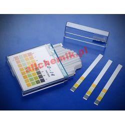 [0229] Paski do pomiaru pH, 4 - polowe, zakres 1 - 14 / 1 op = 100 pasków