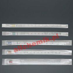 Pipeta serologiczna wielomiarowa z PS, sterylna poj. 1 ml - 1 szt