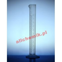 Cylinder miarowy PP z wylewem, skala tłoczona 100 ml - 1 szt