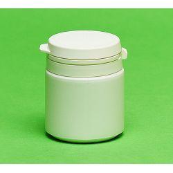 [0872] Pojemnik apteczny HDPE, wieczko ze zrywką 55 ml - 10 szt