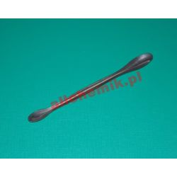 Łyżeczka dwustronna metalowa, dł. 160 mm - 1 szt