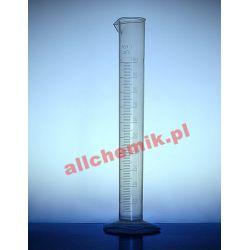 [2193] Cylinder miarowy PP z wylewem, skala tłoczona 500 ml - 1 szt