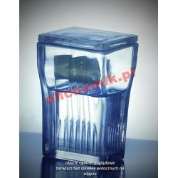 [2408] Barwiacz Hellendahla pionowy szklany do szkiełek mikroskopowych - 8 miejsc