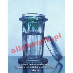 [0827] Barwiacz Coplina pionowy szklany do szkiełek mikroskopowych - 5 miejsc