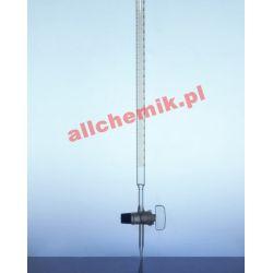 [0038] Biureta szklana prosta, kran szklany - 50 ml