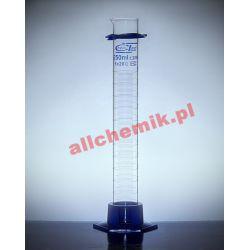 [2299] Cylinder miarowy szklany, kl B stopa PP 1000 ml - 1 szt