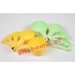 Zestaw plastikowych miarek - 1 ml, 5ml, 15 ml, 50ml, 100 ml