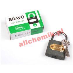 Kłódka żeliwna BRAVO 38 mm + 3 klucze