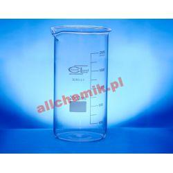 [2380] Zlewka szklana wysoka z wylewem 500 ml - 1 szt