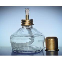 Palnik szklany z metalowym kołpakiem 120 ml