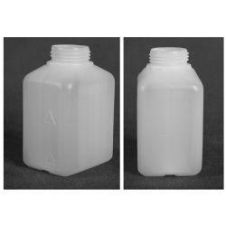 Butelka HDPE z nakrętką z plombą 500 ml - 1 szt