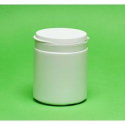 [1228] Pojemnik apteczny HDPE, wieczko ze zrywką 250 ml - 5 szt