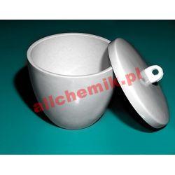 [2965] Tygiel porcelanowy z przykrywką - 70 ml