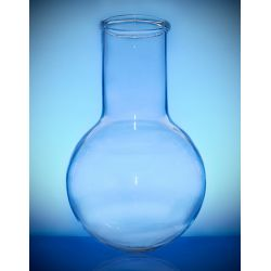 [2971] Kolba szklana okrągłodenna szeroka szyja - 1000 ml