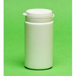 [3035] Pojemnik apteczny HDPE, wieczko ze zrywką 100 ml - 10 szt