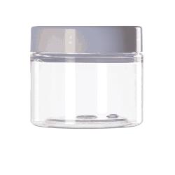 [3214] Słoik kosmetyczny PET z nakrętką 100 ml - 50 szt