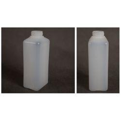 Butelka HDPE z nakrętką z plombą 1000 ml - 80 szt