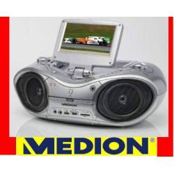 BOOMBOX  z LCD DVD MEDION  CD MP3 USB DIVX GLIWICE