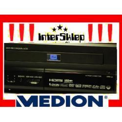 NAGRYWARKA MEDION COMBO DVD VHS HDMI DIVX GLIWICE