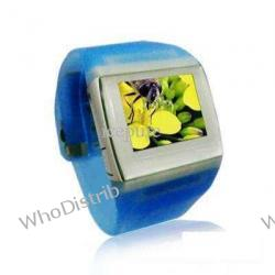 MP3 Player Watch 4GB MP4 Players 1.5'' LCD sky blue Watch Ailun AD898-A