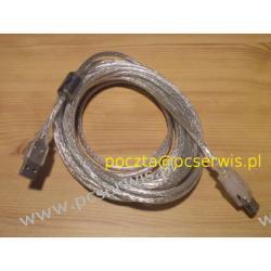 Kabel USB 2.0 -przedłużacz 3m z FERRYTEM