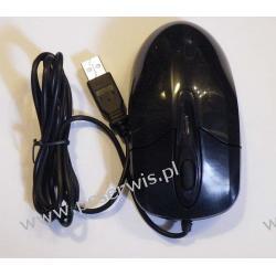 Mysz optyczna  czarna na USB