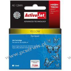 ActiveJet AE-1284N (AE-1284) tusz Yellow pasuje do drukarki Epson (zamiennik T1284)