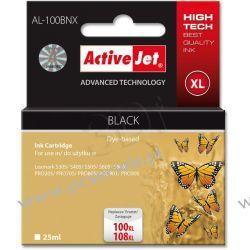 ActiveJet AL-100BNX tusz czarny do drukarki Lexmark (zamiennik Lexmark 100/108) Supreme