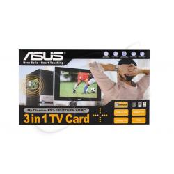 Tuner TV ASUS My Cinema-PS3-100 (TV cyfrowa naziemna DVB-T i satelitarna DVB-S, TV analog, Radio FM. pilot) (karta PCI)...