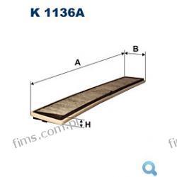 AHC187=K1136A FILTR KABINOWY   BMW Seria 3 (E46) 5/98a (wszystkie modele)  64116907450  64319071935  CUK6724