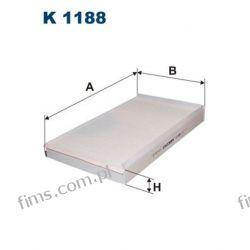 K1188 FILTRON CENA 33 PLN FILTR KABINOWY Mercedes Viano Vito II 639  6398350247  CU3540  LA229 1731410