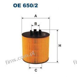 OE650/2 FILTRON FILTR OLEJU AUDI SEAT SKODA VW 1.4  1.6 TSI FSI  03C115562  03C115577A  HU712/6X  OX341D