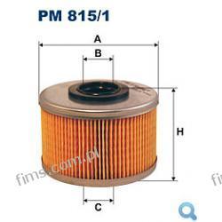 PM815/1 FILTR PALIWA   Renault Clio II 1.9D 4/98->, Kangoo 1.9D