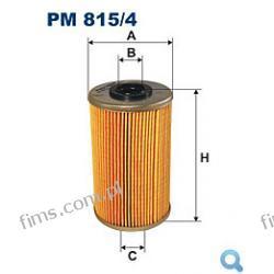 B3R019PR=PM815/4 FILTR PALIWA Nissan Interstar/Primastar, Renault Trafic, Vauxhall Vivaro 2.5DCi 03->