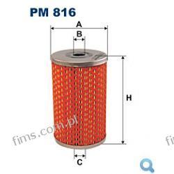 PM816 FILTR PALIWA Citroen; FSO; Peugeot; Renault