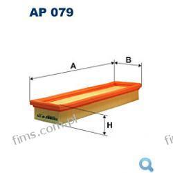 AR462PM=AP076 FILTR POWIETRZA Renault Clio 1.2i (Eng. C3G) 7/94->3/98, Twingo 1.2 3/93->