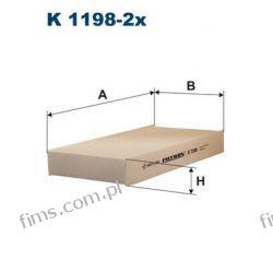 K1198-2X FILTRON CENA 39 PLN  FILTR KABINOWY HONDA CIVIC CR-V II FR-V 80292SCAE11 CU2327-2 40F4004