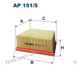 AP151/5 FILTRON CENA 42 PLN FILTR POWIETRZA Ford B-MAX Fiesta VI 10/08--> MAZDA 2 1516725  C17006  LX2633  F026400135