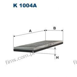 K1004A FILTRON CENA 41 PLN FILTR KABINOWY WĘGLOWY Audi 80, 90 6/93-> A4 1/95->Passat 10/96-> AHC119 CUK3955 LAK45 1730021