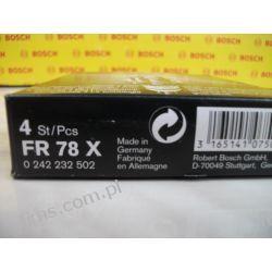 0242232502 BOSCH CENA 19 PLN świeca zapłonowa FR78X Bosch-Super 4 (cena za 1 szt.)