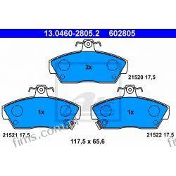 13.0460-2805.2 ATE klocek hamulcowy kpl. przod ROVER 200-Serie (XW) (90-95) (21520 17.5)