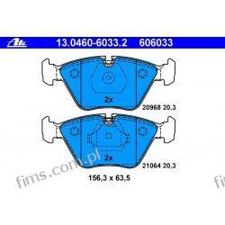 13.0460-6033.2 - ATE - KLOCKI HAMULC. BMW 5 E34 88-97